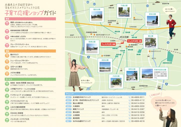フェスタ立花 子育てマップ
