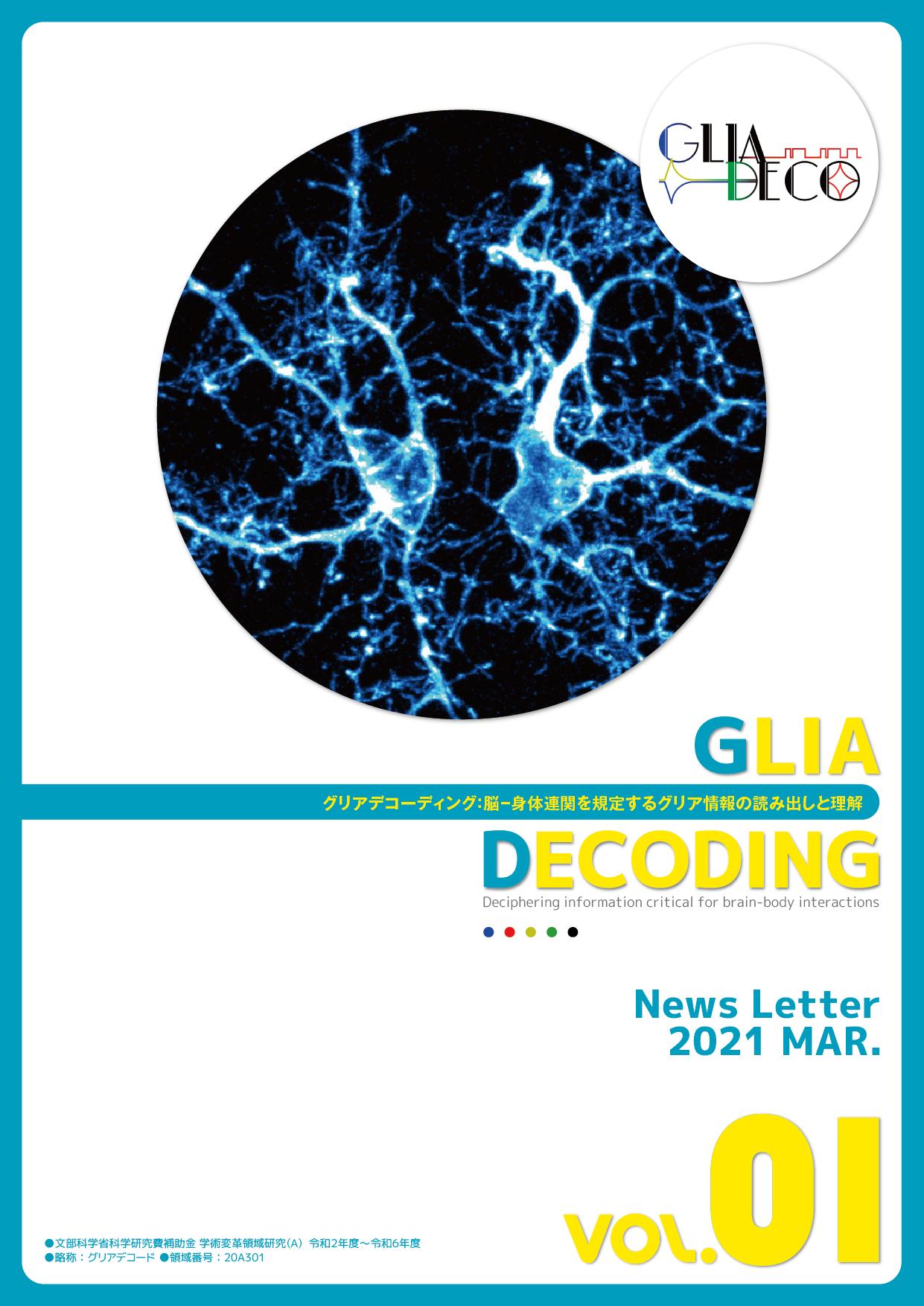 グリアデコーディング:脳-身体連関を規定するグリア情報の読み出しと理解
